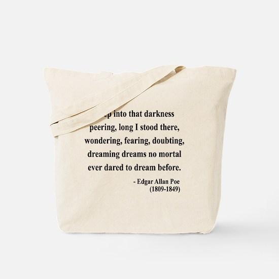 Edgar Allan Poe 5 Tote Bag