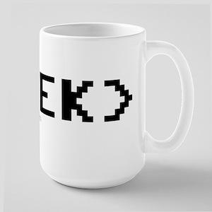 GEEK Tag Large Mug