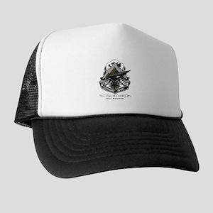 USCB Brown Camo Badge Trucker Hat