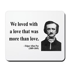 Edgar Allan Poe 9 Mousepad