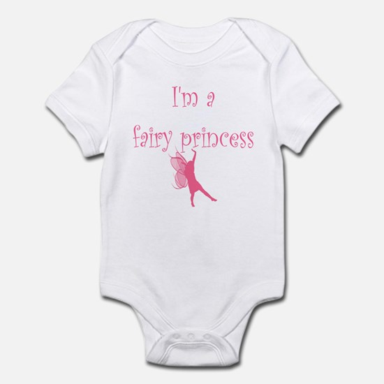Pink Fairy Princess Infant Creeper