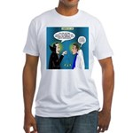 Vampire Hypnotherapist Fitted T-Shirt