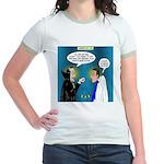 Vampire Hypnotherapist Jr. Ringer T-Shirt