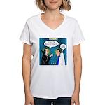 Vampire Hypnotherapist Women's V-Neck T-Shirt