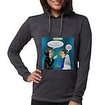 Vampire Hypnotherapist Womens Hooded Shirt