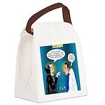 Vampire Hypnotherapist Canvas Lunch Bag