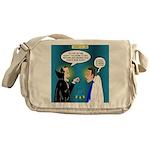Vampire Hypnotherapist Messenger Bag