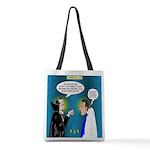 Vampire Hypnotherapist Polyester Tote Bag