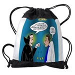 Vampire Hypnotherapist Drawstring Bag