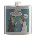 Vampire Hypnotherapist Flask