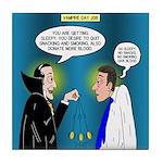 Vampire Hypnotherapist Tile Coaster