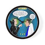 Vampire Hypnotherapist Wall Clock