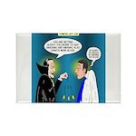 Vampire Hypnotherapist Rectangle Magnet