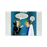 Vampire Hypnotherapist Rectangle Magnet (100 pack)