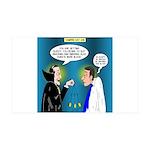 Vampire Hypnotherapist 35x21 Wall Decal