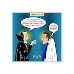Vampire Hypnotherapist Square Sticker 3