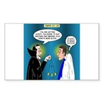 Vampire Hypnotherapist Sticker (Rectangle 10 pk)