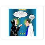 Vampire Hypnotherapist Small Poster