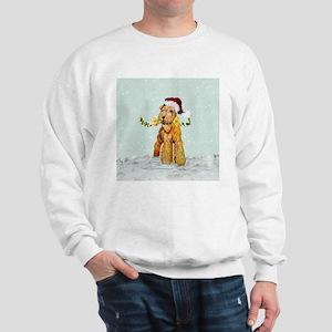 Winter Airedale Sweatshirt