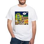 Werewolf Campfire Men's Classic T-Shirts