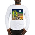 Werewolf Campfire Long Sleeve T-Shirt