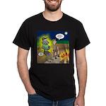 Werewolf Campfire Dark T-Shirt