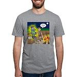 Werewolf Campfire Mens Tri-blend T-Shirt