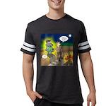 Werewolf Campfire Mens Football Shirt