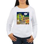 Werewolf Campfire Women's Long Sleeve T-Shirt