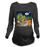 Werewolf Campfire Long Sleeve Maternity T-Shirt