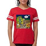 Werewolf Campfire Womens Football Shirt