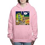 Werewolf Campfire Women's Hooded Sweatshirt