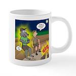 Werewolf Campfire 20 oz Ceramic Mega Mug