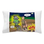 Werewolf Campfire Pillow Case