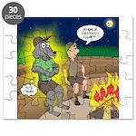 Werewolf Campfire Puzzle
