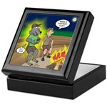 Werewolf Campfire Keepsake Box