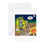 Werewolf Campfire Greeting Cards (Pk of 20)
