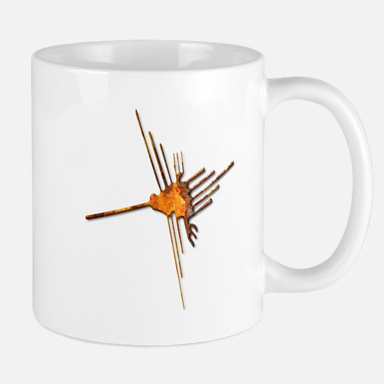 Nazca Hummingbird-rust Mug