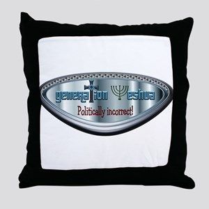 Politically Incorrect! Throw Pillow