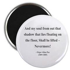 """Edgar Allan Poe 12 2.25"""" Magnet (100 pack)"""