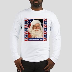 A Pro Bush Christmas Patriotic Long Sleeve T-Shirt