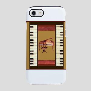 Piano Keys Federal Piano squ iPhone 8/7 Tough Case