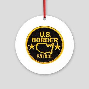 Border Patrol Ornament (Round)