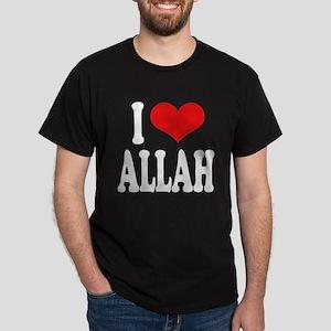 I Love Allah Dark T-Shirt