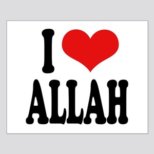 I Love Allah Small Poster