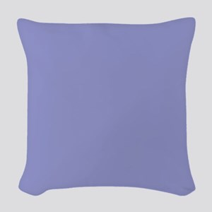 Violet Tulip Periwinkle 9295ca Woven Throw Pillow