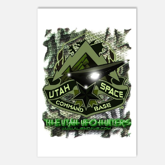 USCB Green Reptile Camo Postcards (Package of 8)
