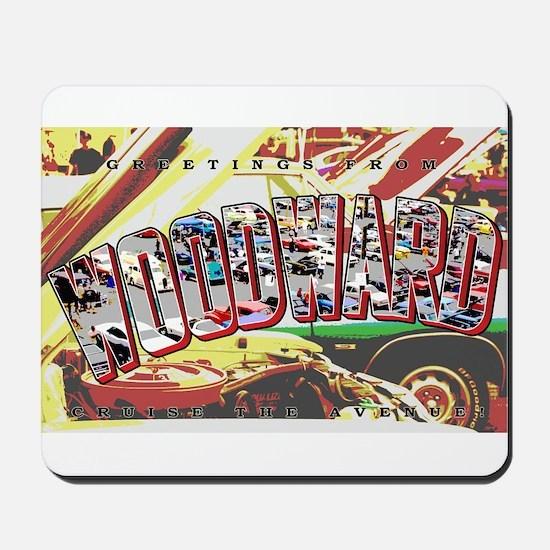 Woodward Ave Mousepad