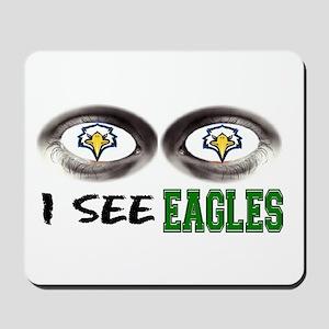 i see eagles Mousepad