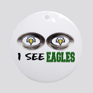 i see eagles Ornament (Round)